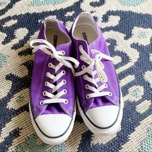 Converse All Stars Low Top Purple 8 M / 10 W